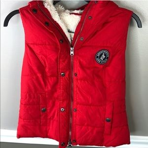 Abercrombie Sterling Lines Puffer Vest